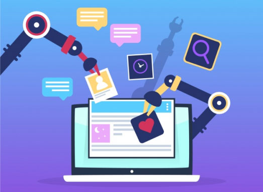 marketing automation section